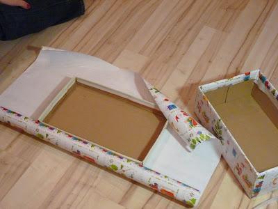 Как обклеить коробку с подарком 22