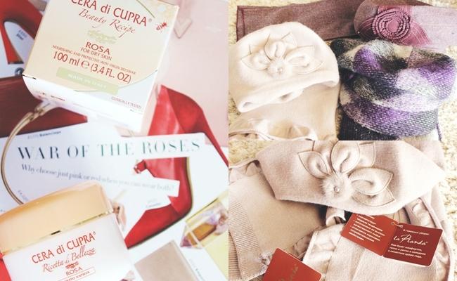 """Instagram @lelazivanovic.Cera di Cupra """"Rosa"""" face cream/krema za lice. 3 new sets (scarf + hat) from Russia, FW fashion trends."""