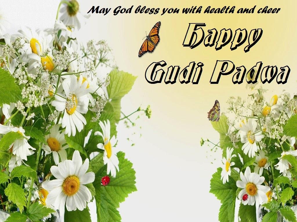 Gudi Padwa Wishes, Marathi New year HD Cards - Festival Chaska