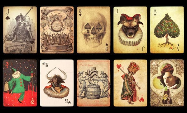 50 Cool Playing Cards That Will Make You Look Twice