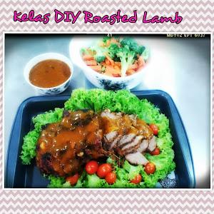 Kelas DIY Roasted Boneless  Lamb RM280