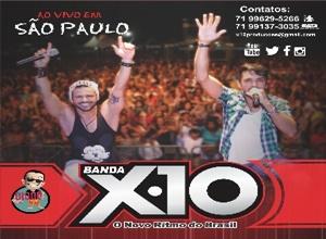 Banda X10 - AO VIVO EM São Paulo