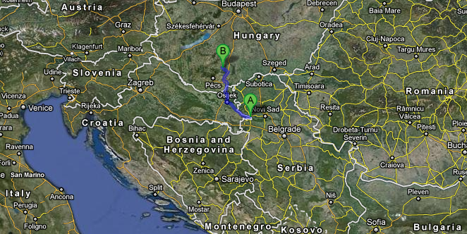 Google Street Views Web Applications - Hungary Map And