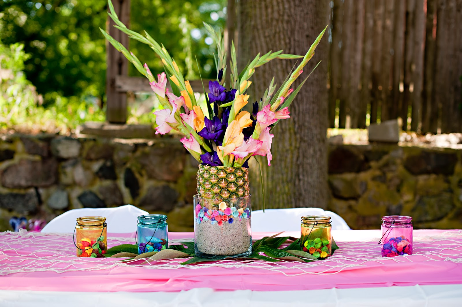 Events that sparkle a luau birthday party for Hawaiin decorations