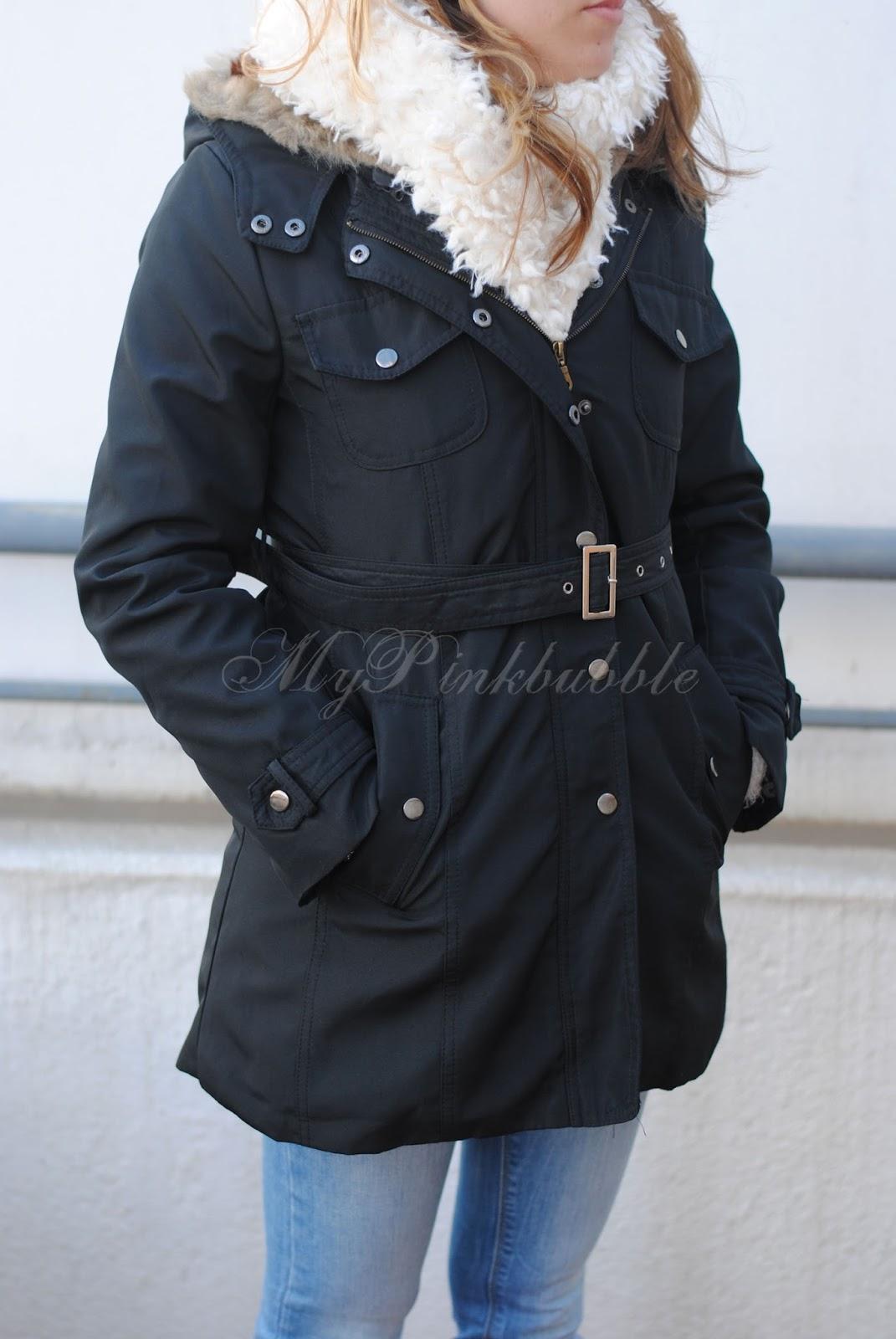 outfit abrigo katiuskas