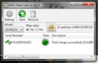 Cara Flash Asus Zenfone C Mudah Lengkap