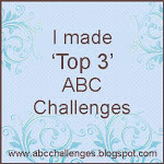 I made it  to the Top 3 at ABC Challenges! :)