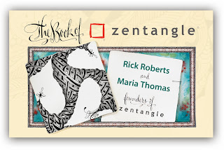 The Book of Zentangle by Maria Thomas & Rick Roberts / z e n t a n g l e ®