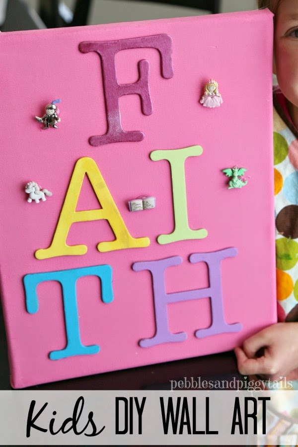 Diy Wall Art For Toddlers : Diy kids wall art making life blissful