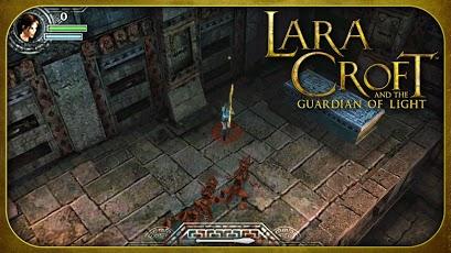 Lara Croft  Guardian Of Light APK Data All Version Armv6
