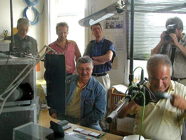 Radiomacher auf Stippvisite in Marburg
