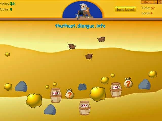 Tải game đào vàng cổ điển về máy tính
