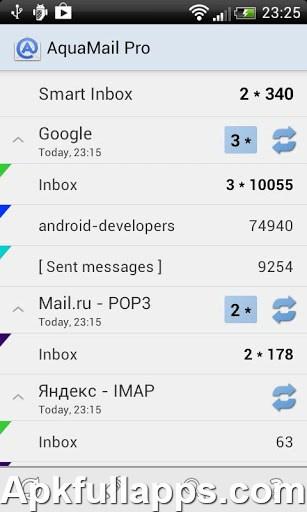 Aqua Mail – new email app PRO v1.2.2