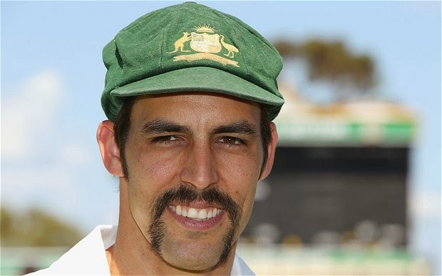 Mitchell Johnson Hairstyle Mitchell Johnson Horse-shoe