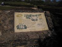 Roman Villa Ruins Milton Keynes Information Sign