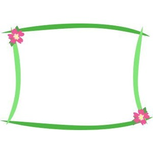 Tropical Page Borders Tropical clip art borders