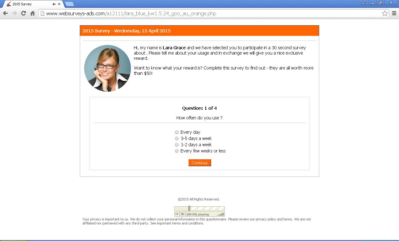 websurveys-ads.com pop-ups