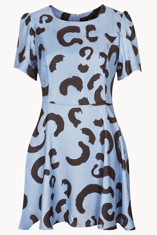blue pattern sister jane dress