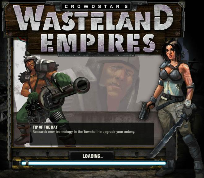 Game : Wasteland Empires