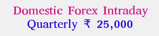 MCXSX,INTRADAY calls,Domestic forex Intraday