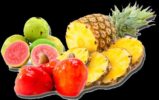 Frutas originárias do Brasil