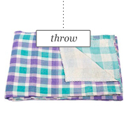 Vintage Sari Throw by Sunrise Creations LLC