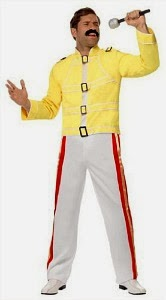 Budget Freddie Mercury Wembley Stadium Costume