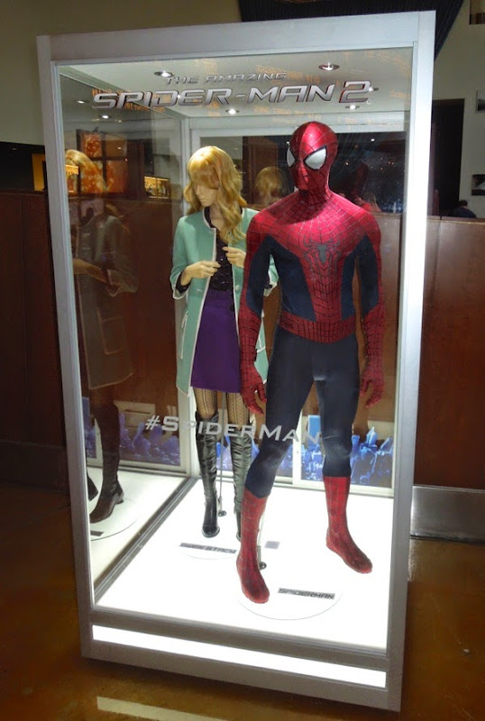 Andrew Garfield Amazing Spider-man 2 movie costume