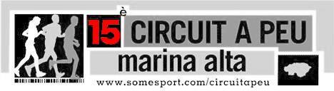 Información Circuito Marina Alta 2011