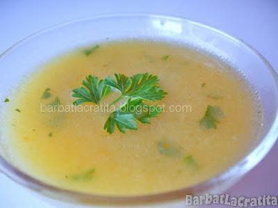 Supa crema de legume reteta