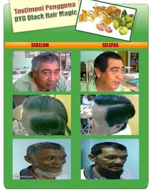 Shampo Herbal untuk uban