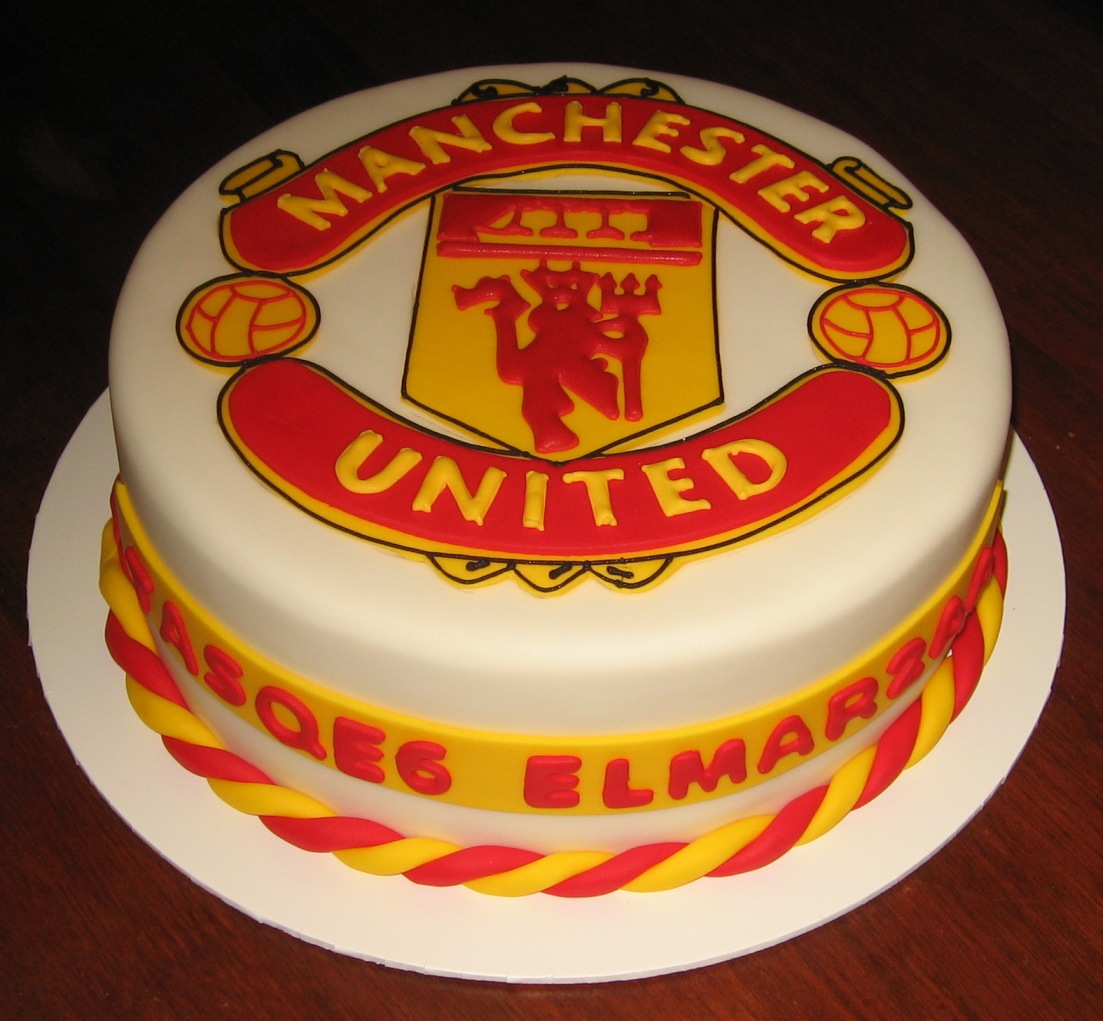 Let Them Eat Cake: Manchester United cake
