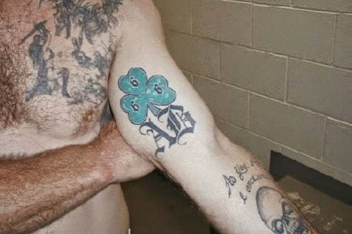Aryan brotherhood tattoos lightning bolts pictures to pin