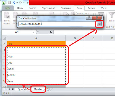how to create drop down list in microsoft excel 2003