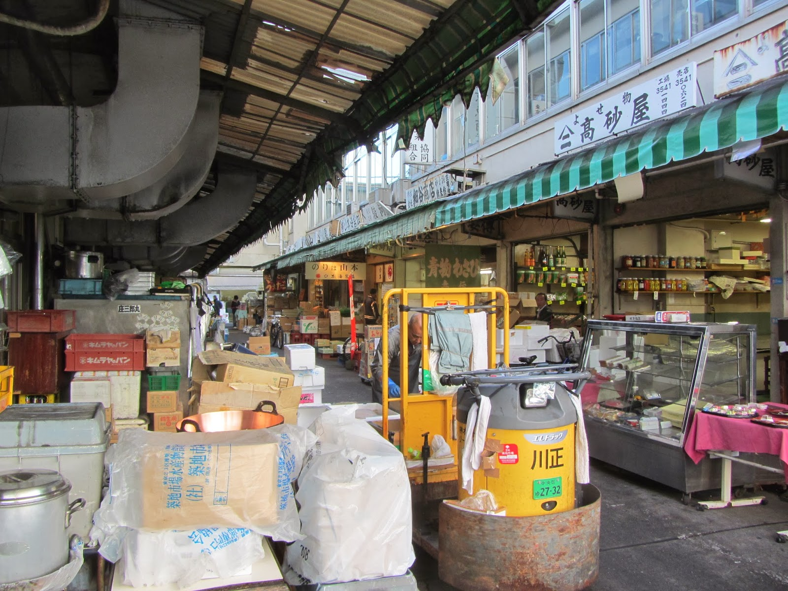 Going local at the global fish market environment for Local fish market