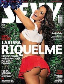 Revista Sexy – Larissa Riquelme – Maio 2012 Completa