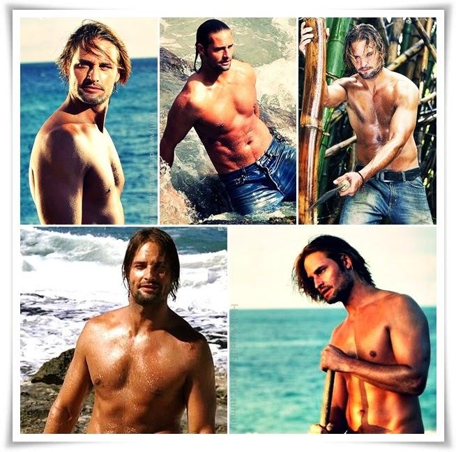 Shirtless Sawyer LOST