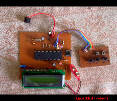 alarm clock with 8051 microcontroller