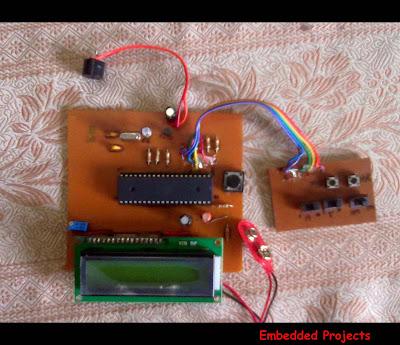 alarm clock with 8051 microcontroller