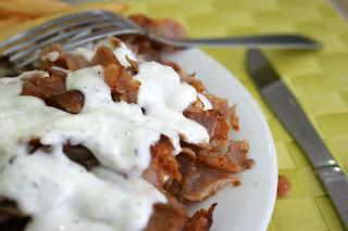 sauce blanche pour un bon kebab maison