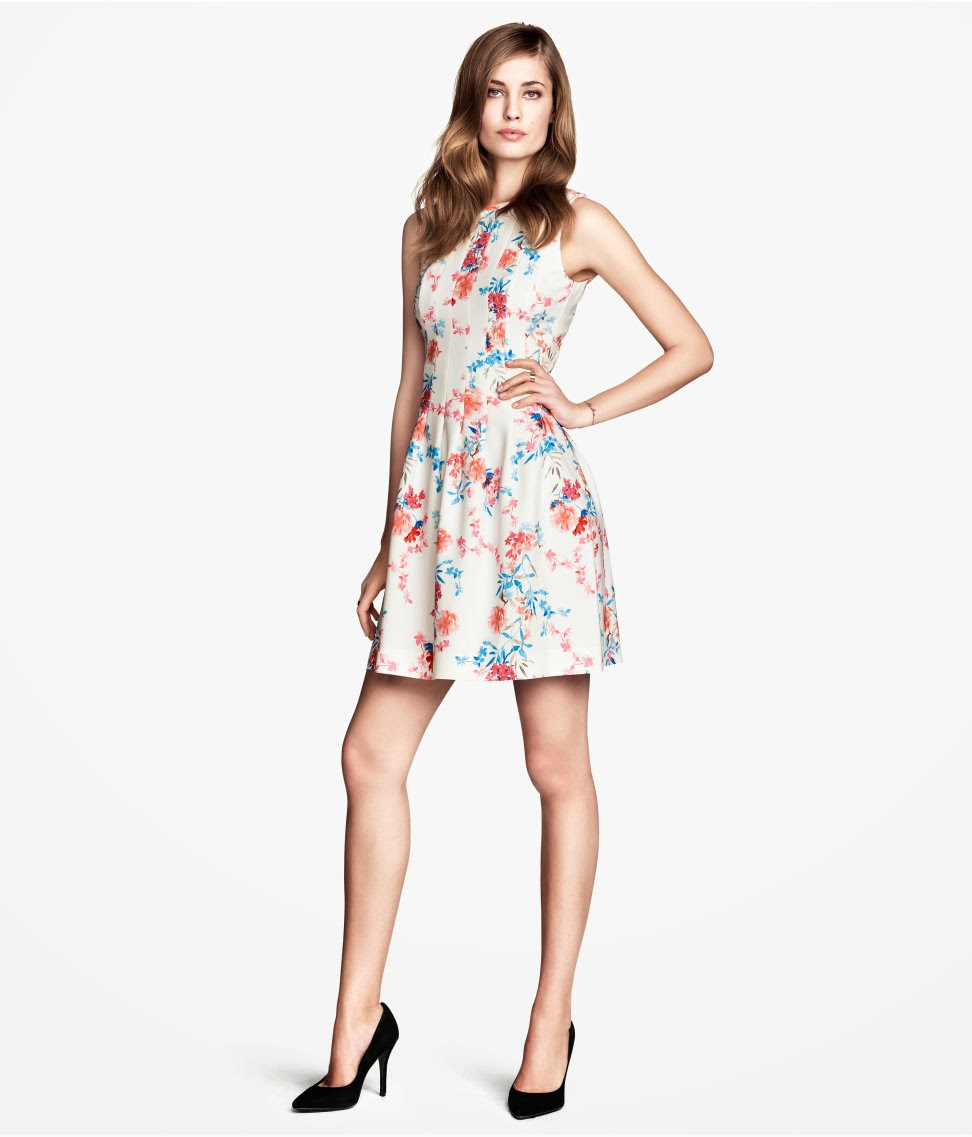 %C3%A7i%C3%A7ek+desenli+2014 H & M 2014 Sommer Kleidung Models