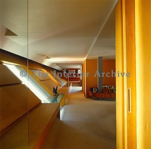 Interior de la Casa en el Aires de Agustín Hernández en Ciudad de México