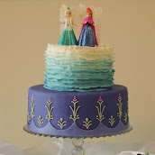 Frozen Birthday Party Cake