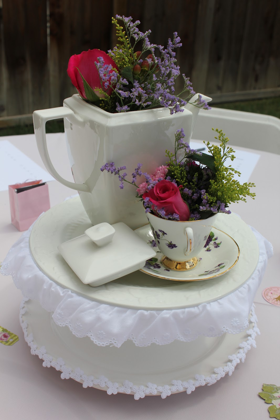 Sip And See Baby Shower Tea Party Style