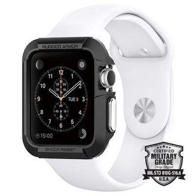 Coolest Smartwatch Attachments - Spigen Apple Watch Case