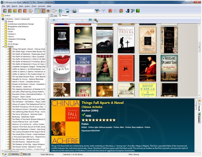 Book Collector Screenshot - by Genre