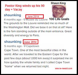 Shaun King scam