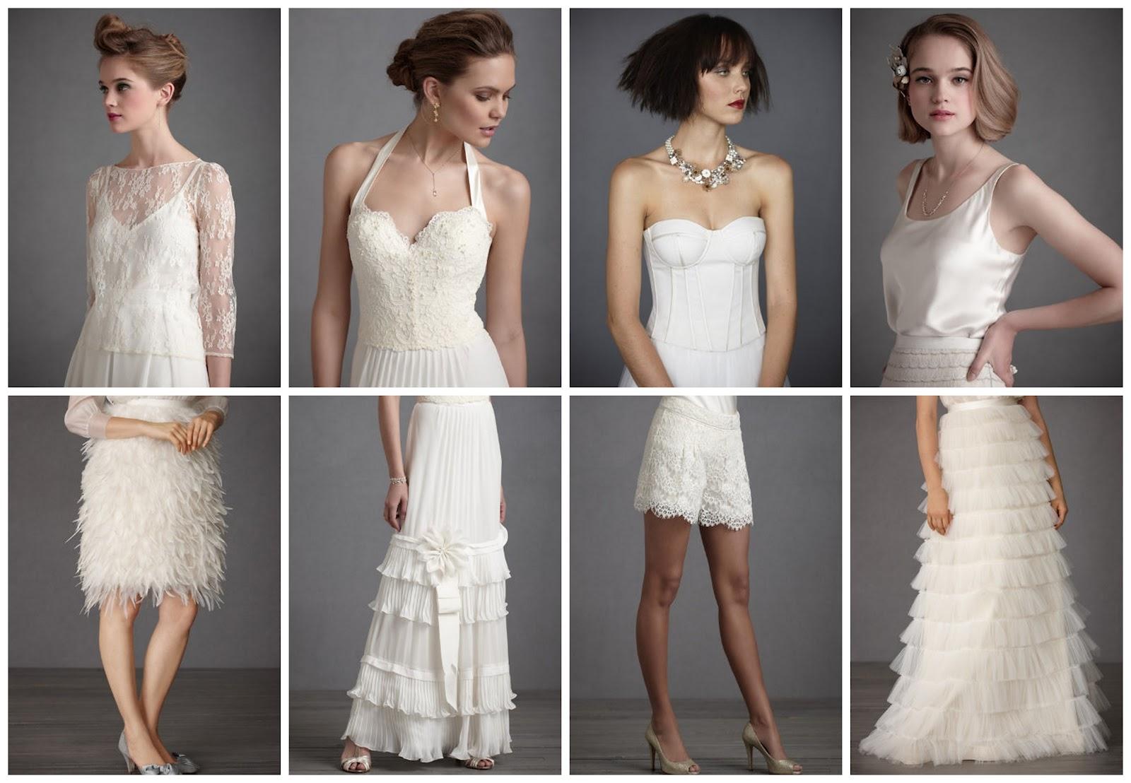 Stunning wedding dress separates ombrellifo Choice Image