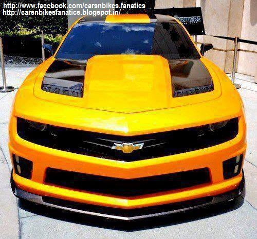 Car Bike Fanatics  Modified Chevrolet Camaro