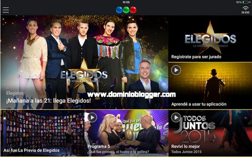 Descarga la aplicacion para votar en el programa Elegidos por Telefe